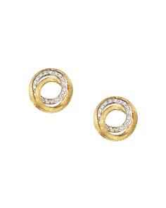 Marco Bicego Diamond Jaipur Link Stud Earrings, 0.29 ct. t.w. - Bloomingdale's_0