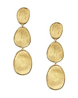 Marco Bicego - 18K Yellow Gold Lunaria Three Tiered Drop Earrings
