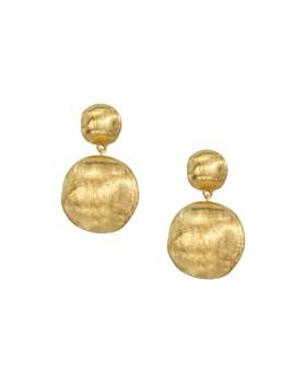 Marco Bicego 18 K Yellow Gold Bead Drop Earrings
