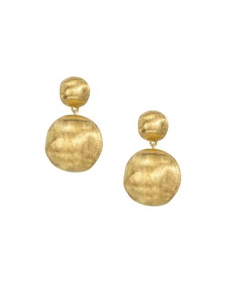 18 K Yellow Gold Bead Drop Earrings by Marco Bicego
