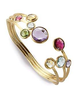 "Marco Bicego - 18K Yellow Gold ""Jaipur"" 3 Row Bracelet"