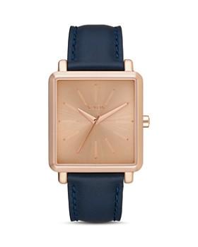 Nixon - K Squared Leather Watch, 30mm x 32mm