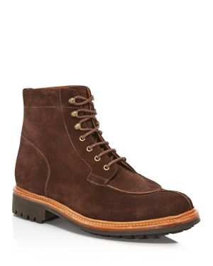 Grenson Grover Brown Suede Boots
