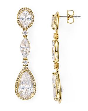 Nadri Oval Drop Earrings-Jewelry & Accessories