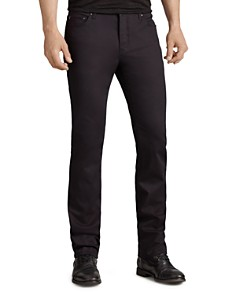 John Varvatos Collection Woodward Slim Fit Jeans in Black - Bloomingdale's_0
