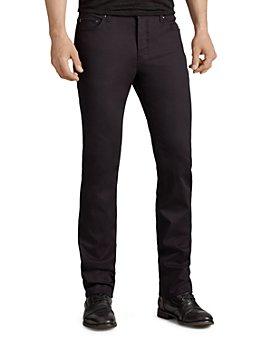 John Varvatos Collection - Woodward Slim Fit Jeans in Black