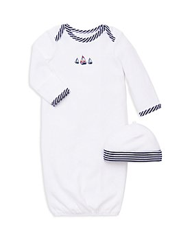 Little Me - Boys' Sailboat Gown & Hat Set - Baby