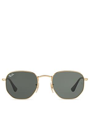 Ray-Ban Unisex Icons Hexagonal Sunglasses, 51mm