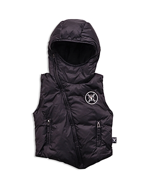Nununu Boys' Hooded Down Vest - Sizes 2-9