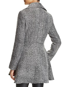 Laundry by Shelli Segal - Fit-and-Flare Double-Breasted Coat