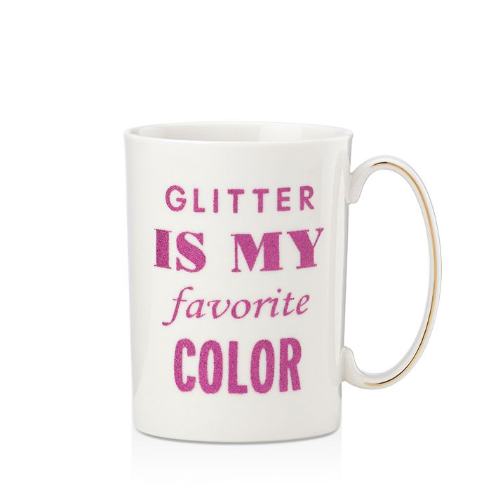 b1f46750f1e kate spade new york - Simply Sparkling Glitter is my Favorite Color Mug