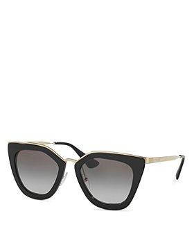 Prada - Women's Conceptual Cat Eye Sunglasses, 52mm