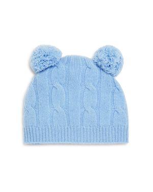 Bloomie's Infant Boys' Cashmere Cable Hat - 100% Exclusive