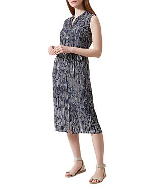 Hobbs London Harriete Printed Shirt Dress