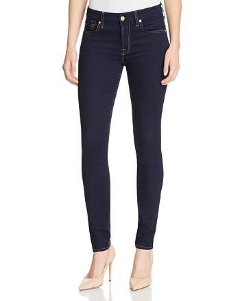7 For All Mankind - b(air) The Skinny Jeans in Rinsed Indigo