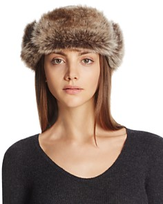 Barbour - Ambush Hat with Faux Fur Cuff