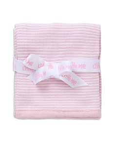 Little Me Infant Girls' Textured Striped Blanket - Bloomingdale's_0