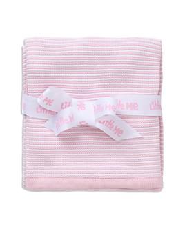 Little Me - Infant Girls' Textured Striped Blanket