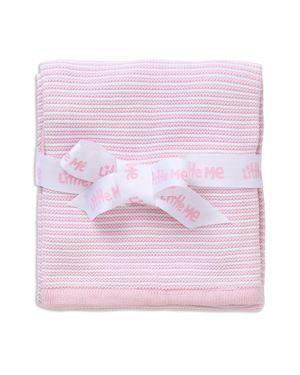 Little Me Infant Girls' Textured Striped Blanket
