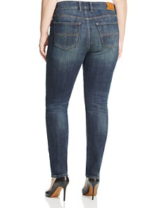 Lucky Brand Plus - Emma Faded Straight Leg Jeans in Tiburon