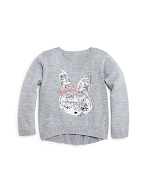 Bloomie's Infant Girls' Sequined Bunny Sweater, Sizes 12-24 Months - 100% Exclusive