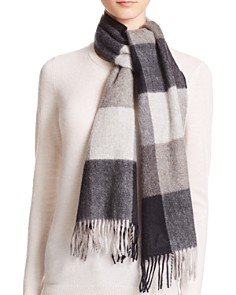 C by Bloomingdale's Cashmere Plaid Scarf - 100% Exclusive_0