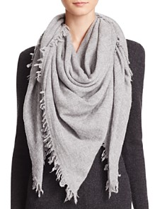 C By Bloomingdales Cashmere Solid Woven Scarf - 100% Exclusive_0