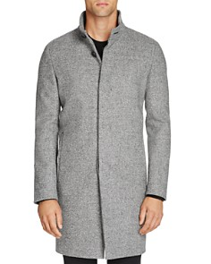 Theory - Belvin Button-Front Topcoat - 100% Exclusive