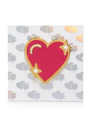 Stoney Clover Lane Enamel Heart Pin 1768915