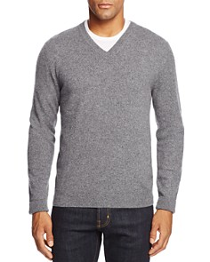 The Men's Store at Bloomingdale's Cashmere V-Neck Sweater_0