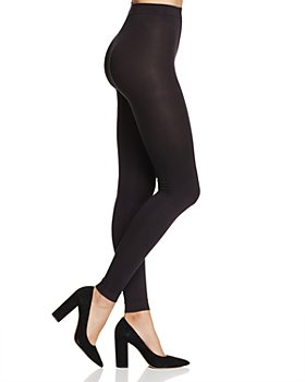 HUE - Style Tech Blackout Footless Tights