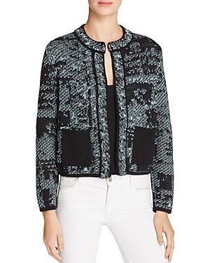 M Missoni Metallic Tweed Jacket