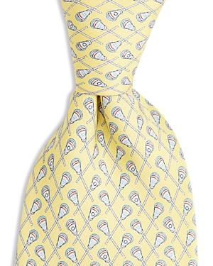 Vineyard Vines Boys Lacrosse Print Silk Tie