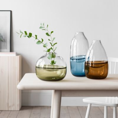 Septum Blue Vase