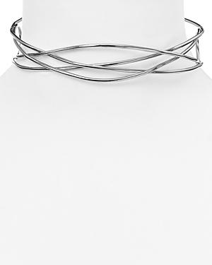 Aqua Freddie Choker Necklace