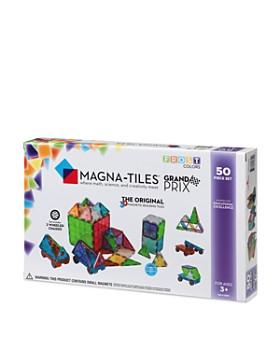 Magna-tiles - Grand Prix 50-Piece Set - Ages 3+