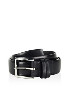 Cole Haan Feather Edge Belt with Pinch Detail on Loop - Bloomingdale's_0
