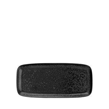 L'Objet - Alchimie Black Medium Rectangular Platter