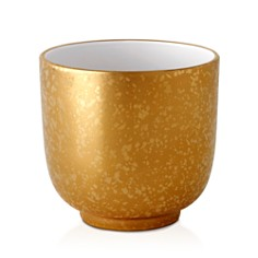 L'Objet - Alchimie Gold and Platinum Cache Pot