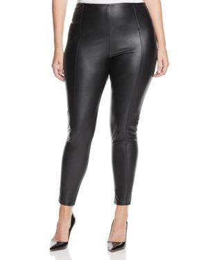Lysse Plus High Waist Faux Leather Leggings
