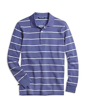 Brooks Brothers Boys' Narrow Stripe Pique Polo Shirt - Sizes Xs-xl