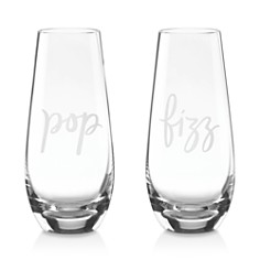 kate spade new york Two Of a Kind Stemless Champagne Flute, Set of 2 - Bloomingdale's_0