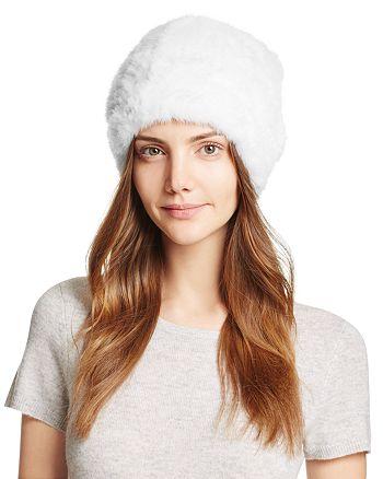 Maximilian Furs - Knit Mink Fur Hat - 100% Exclusive