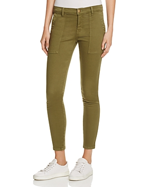 Current/Elliott The Station Agent Pants in Army Green