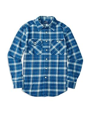 Ralph Lauren Childrenswear Boys' Vintage Twill Plaid Shirt - Big Kid