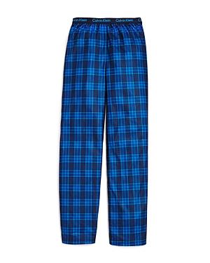 Calvin Klein Boys' Plaid Pajama Pants - Big Kid