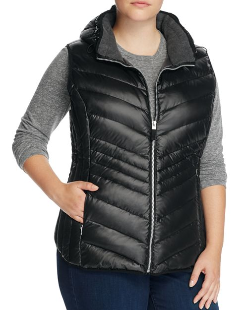 Marc New York Plus - Ruby Hooded Down Puffer Vest