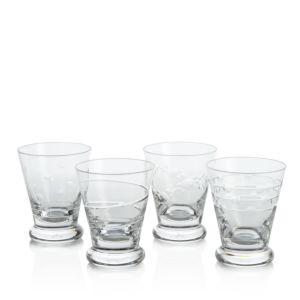 William Yeoward Suki Whiskey Tumblers, Set of 4
