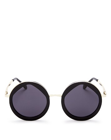 $Le Specs Women's Hey Yeh Round Sunglasses, 50mm - Bloomingdale's