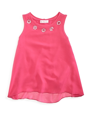 Design History Girls' Chiffon Tank - Little Kid